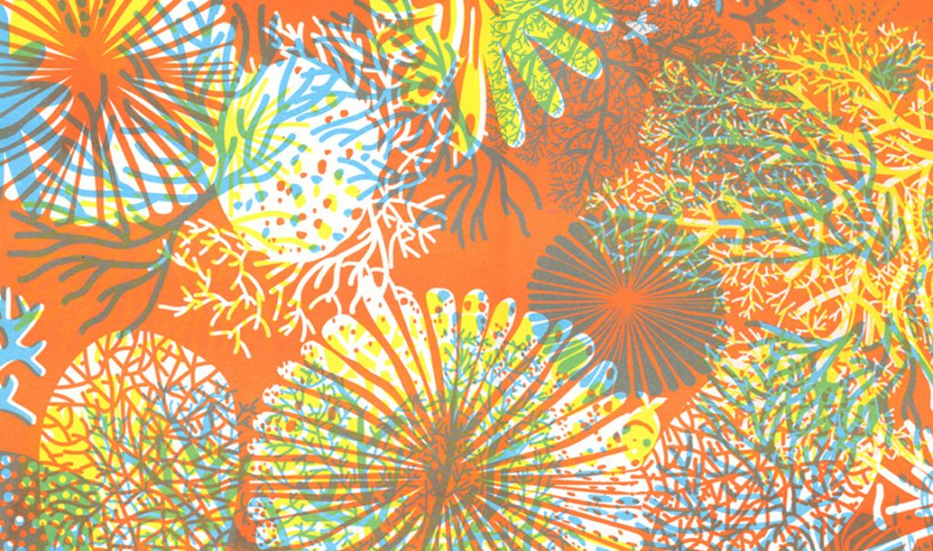 Rico Print coral reef - printed at Drucken3000 Limited Edition 20